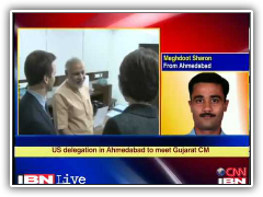 NIAPPI US Delegation led by Aaron Schock & Shalabh Kumar meets CM Modi